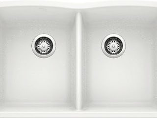 Blanco –  50/50  –  Diamond  Sink – White – 440185